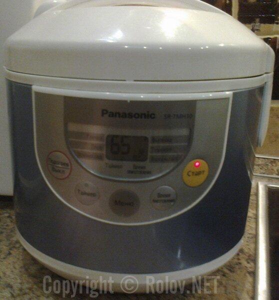 Рецепты для мультиварки панасоник 18 пошагово с фото