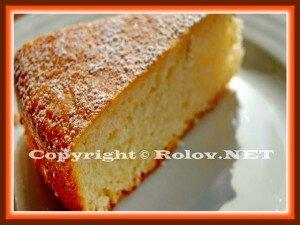 апельсиновая шарлотка