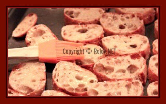 масло на хлеб