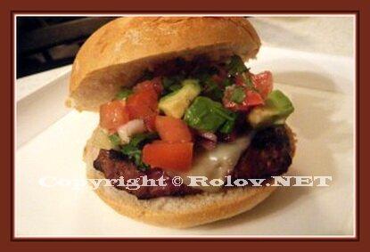 гамбургер с изюминкой