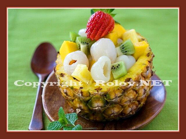 азиатский фруктовый салат