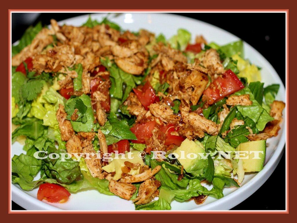Рецепт салата с куриным мясом с