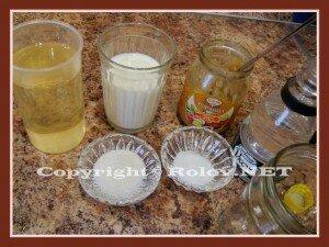майонез из молока