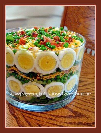 Салат сосновые шишки салат