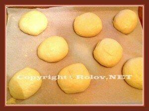 сделать 8 булочек