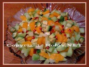 фруктовый салат праздник фруктов