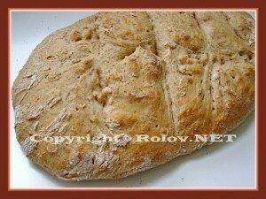 хлеб из цельной пшеничной муки