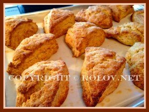 домашние булочки со сливочным кремом