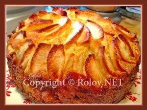 торт с яблоками