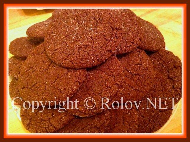 домашнее голландское печенье